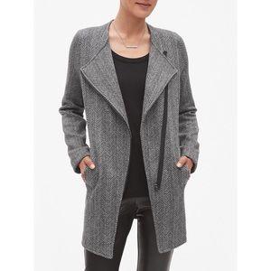 Banana Republic fleece herringbone jacket